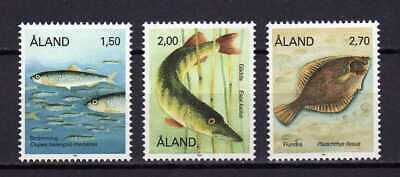 13813) ALAND 1989 MNH** Fishes - Pesci