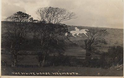 "WEYMOUTH ( Dorset) :  The White Horse RP-""SEWARD"" Wessex series"