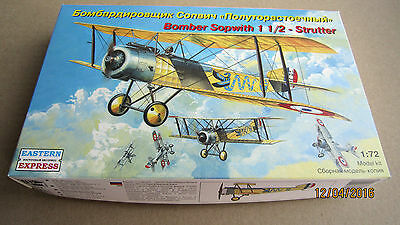 Sopwith 1 1/2 - Strutter  Bomber WWI     1/72 EasternExpress # 72158
