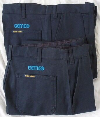 Hard Yakka Trousers Drill Size 82R Mens Style 02501 x 2 pair