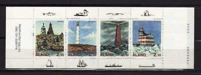13819) ALAND 1992 MNH** Booklet Lighthouses - Libretto Fari