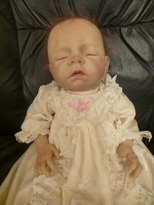 Denise Farmer 18 Inch Realistic Weighted Baby Girl Doll Reborn