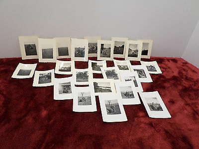 WWII Real Photographs Black and White From France and Germany