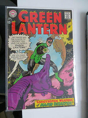 Green Lantern: Unrestored Silver Age Dc Comic #57 Nm Around Grade 9 Ow Pages
