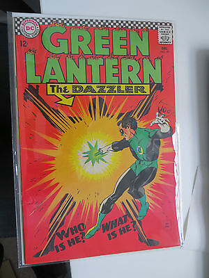 Green Lantern: Unrestored Silver Age Dc Comic #49 Nm Around Grade 9 Ow Pages