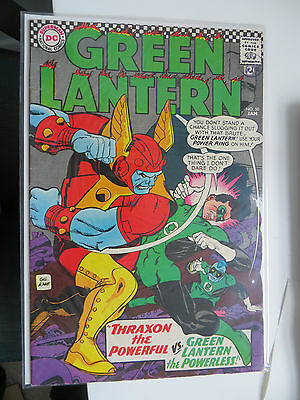 Green Lantern: Unrestored Silver Age Dc Comic #50 Vfn Around Grade 7.7 Ow Pages