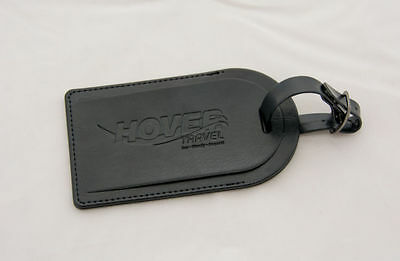 Real Leather Hovertravel Luggage Tag - Hovercraft, Isle of Wight