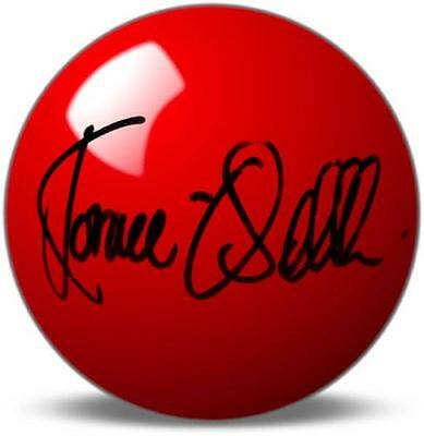 Signed Red Snooker Ball  Ronnie O' Sullivan Snooker  Proof COA