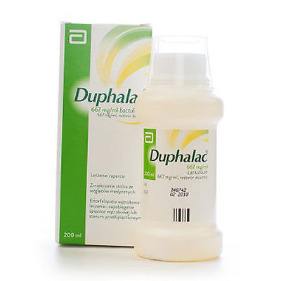 3x Duphalac syrup againts constipation 667mg lactulose 3x 150ml = 450ml