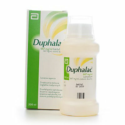 Duphalac syrup againts constipation 667mg lactulose 150ml