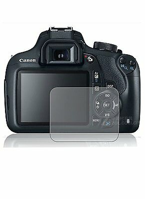 2 New Clear Anti Scratch Screen Cover Guard Film For Canon EOS 1200D (Rebel T5)