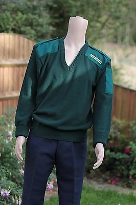 vintage bus / coach uniform. London and Country green jumper.