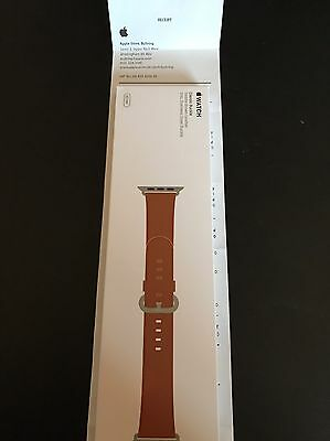 apple watch brown leather strap