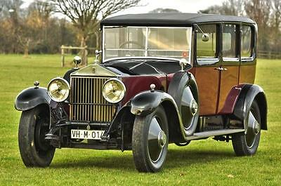 1927 Rolls Royce Phantom 1 Park Ward Saloon