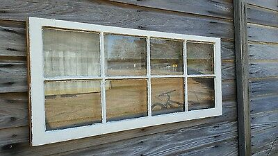 Vintage Sash Antique Wood Window Unique Frame Pinterest Wedding  36X20 8 Pane