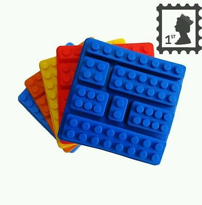 Lego bricks mold, silicone cake mould FREE 1st Class Post!!