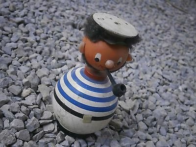 Antique Vintage Wooden Toy Sailor