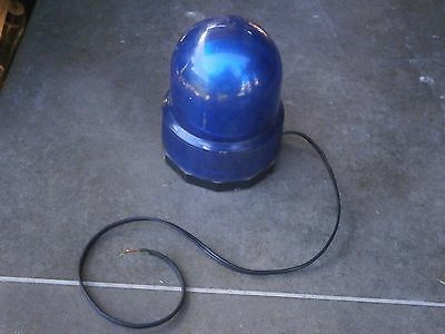 Vintage Rare Antique Police Syren Jar Pot Lamp