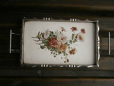 Old Rare Antique Porcelain Tray