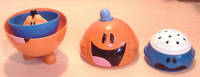 MR MEN 'Russian Doll' type Toys VGC