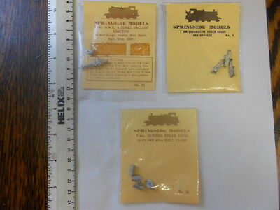 O Gauge Accessories X 3 Sealed Packets - No.1