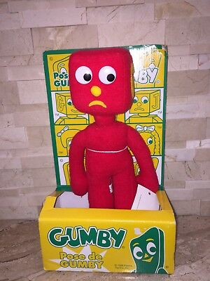 Gumby And Friends Blockhead Toy Nwt 1998 Prema Toy