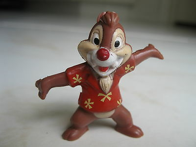 "1991 Kellogg Co. Disney's Chip n Dale Rescue Rangers Chipmunk Figure - 2"" Tall"
