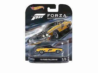 Hotwheels New Forza 73 Ford Falcon Xb Real Rider Rubber Tyres