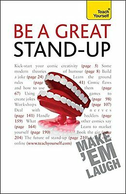Be a Great Stand-Up: Teach Yourself, Murray, Logan, New condition, Book