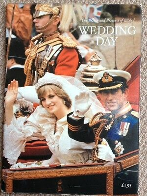 The Prince and Princess of Wales --WEDDING DAY