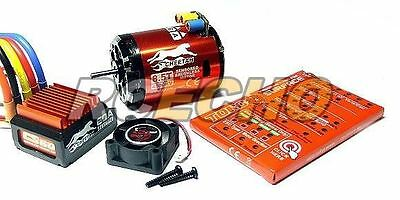 SKYRC CHEETAH 4000KV 8.5T Sensored Brushless Motor & CS60 60A ESC Combo ME650