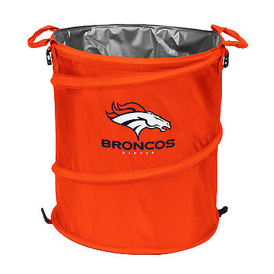 Logo Chair 610-35 Denver Broncos Collapsible 3-in-1 Cooler