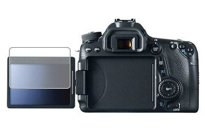 2 x New Clear Anti Scratch Screen Cover Guard Film For Canon EOS 70D