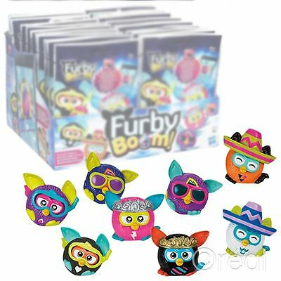 """New 1 3 5 Or 10 Furby Boom Blind Bag Eggs 2"""" Mini Figures Mystery Official"""