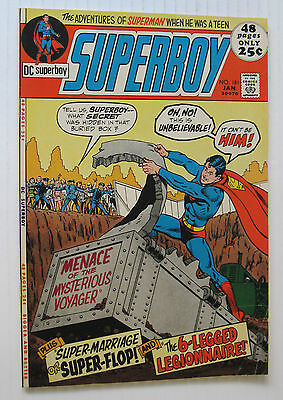 Superboy #181 (DC 1/72) FN/FN+ 'Menace of the Mysterious Voyager!' 52 Pgs/Nice!!