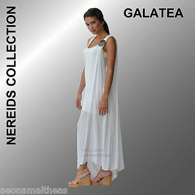 Nereids Collection - Galatea White Dress - One size (Small to Large)