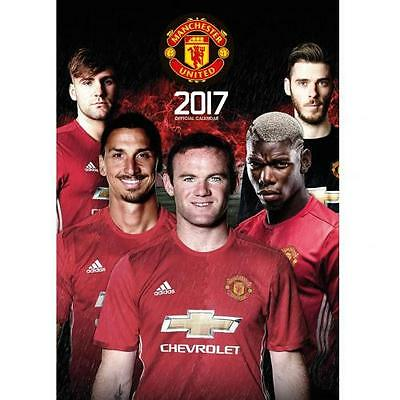 Manchester United THE OFFICIAL 2017 CALENDAR