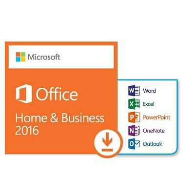 Microsoft Office 2016 for Mac - Home and Business - Delivery within 24 hours