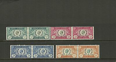 South Africa Sg65-68  1935 Silver Jubilee Set Mounted Mint