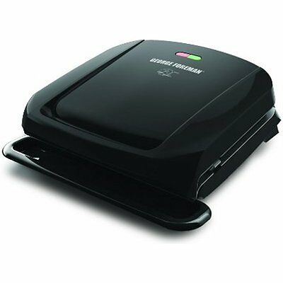 Meat Poultry Tools George Foreman GRP1060B 4 Serving Removable Plate Grill,