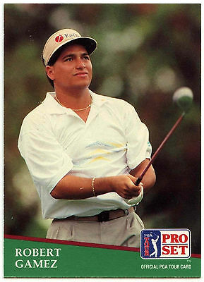 Robert  Gamez #79 PGA Tour Golf 1991 Pro Set Trade Card (C321)