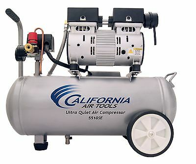 CALIFORNIA AIR TOOLS 5510SE Ultra Quiet & Oil-Free Air Compressor-USED