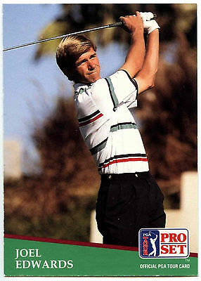 Joel Edwards #61 PGA Tour Golf 1991 Pro Set Trade Card (C321)