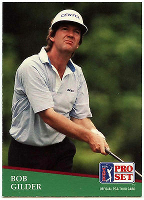 Bob Gilder #56 PGA Tour Golf 1991 Pro Set Trade Card (C321)
