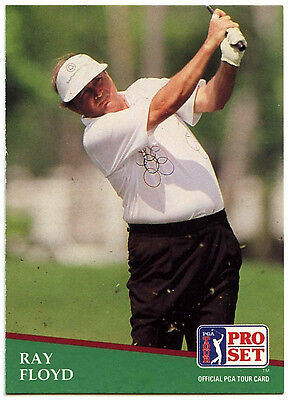 Ray Floyd #164 PGA Tour Golf 1991 Pro Set Trade Card (C321)