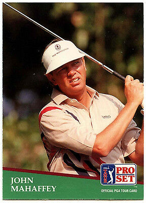 John Mahaffey #40 PGA Tour Golf 1991 Pro Set Trade Card (C321)