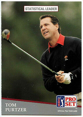 Tom Purtzer #274 PGA Tour Golf 1991 Pro Set Trade Card (C321)