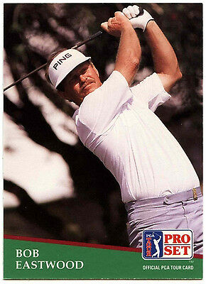 Bob Eastwood #90 PGA Tour Golf 1991 Pro Set Trade Card (C321)