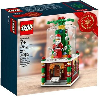 Lego Set 40223 Snowglobe [Limited Edition] Brand New Genuine 1st Class Delivery