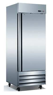 Single Door Commercial Reach In Stainless Steel Freezer CFD-1FF (Free Shipping)
